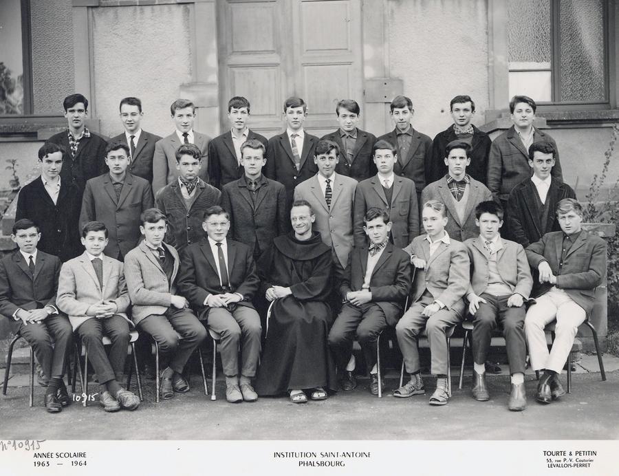 1963-1964 seconde