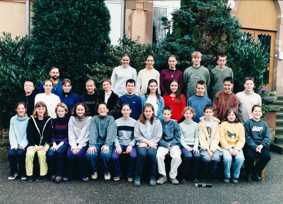 2000-2001 cinquieme 4