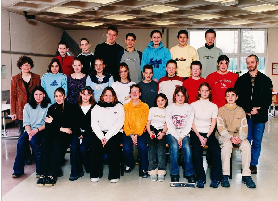 2002-2003 quatrieme 2