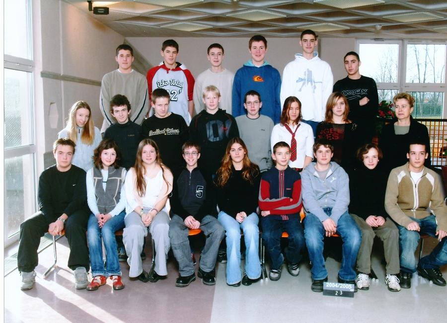 2004-2005 seconde 3