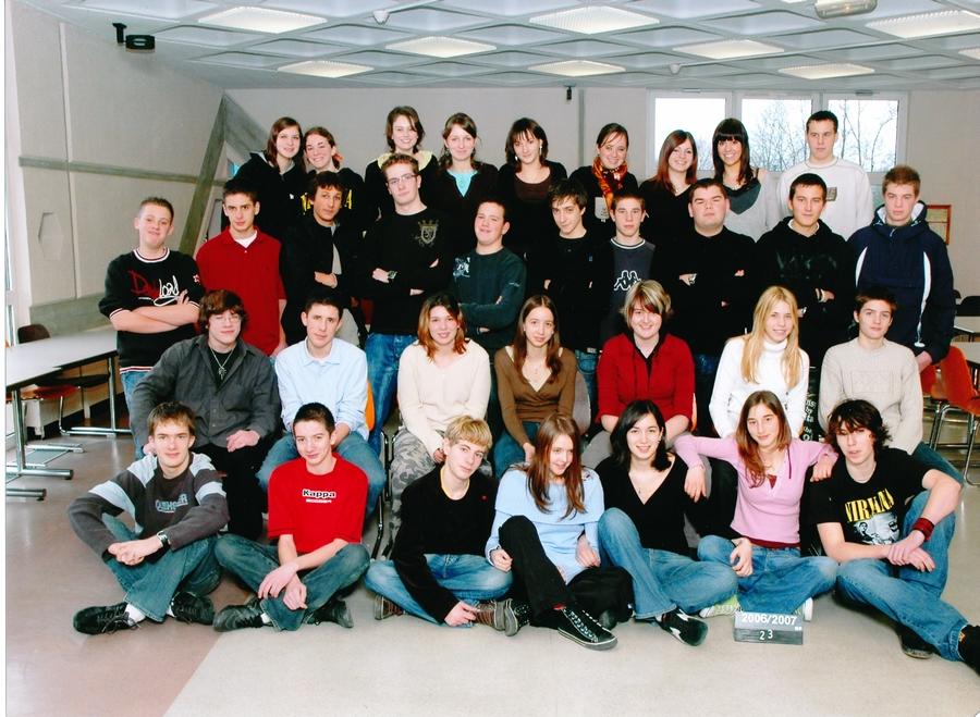 2006-2007 seconde 3